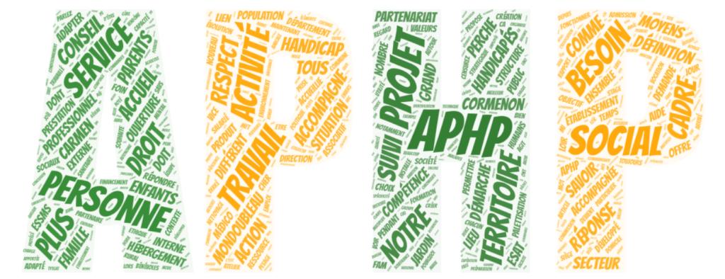 Illustration des valeurs de l'association pour les personnes handicapées du perche